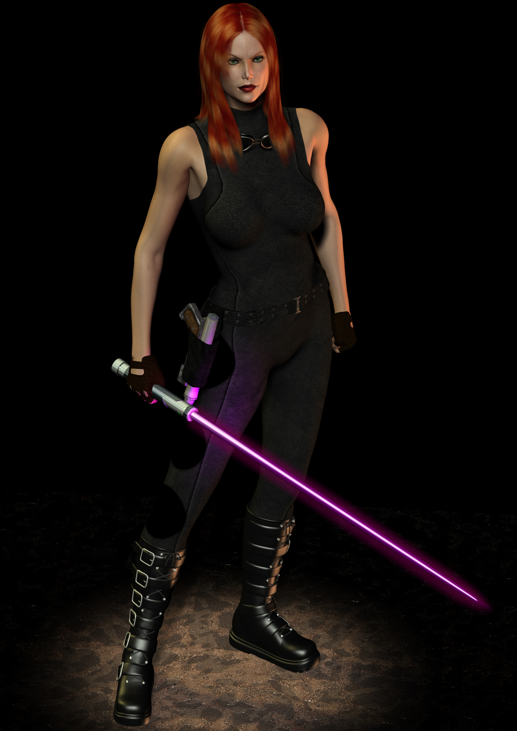 Mara Jade Feisty