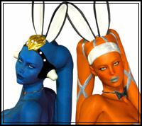 Easter Twi'lek Bunnies