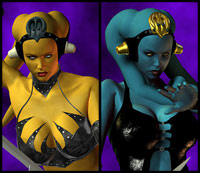 Twin Suns - Twi'lek Assassins